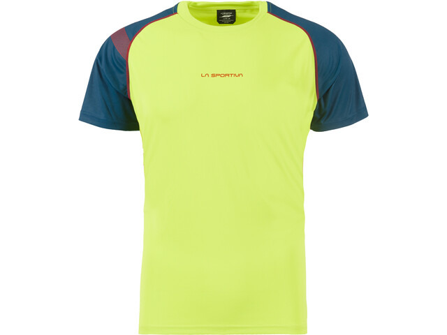 La Sportiva Motion T-Shirt Homme, apple green/opal